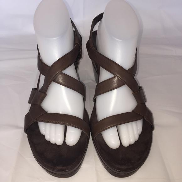 513098be5c04 AEROSOLES Shoes - Aerosoles Brown Hedge Maple Wedge